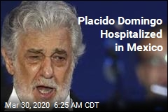 Placido Domingo in Mexican Hospital for Virus Treatment