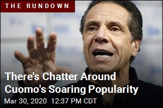 There's Chatter Around Cuomo's Soaring Popularity