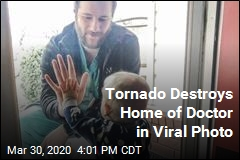 Home Seen in Doctor's Viral Photo Destroyed by Twister