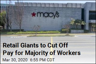 Macy's, Kohl's to Furlough Majority of Their Employees