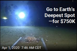 For $750K, You Can Visit the Deepest Spot on Earth