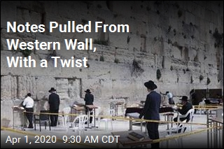 All Notes Pulled From the Western Wall