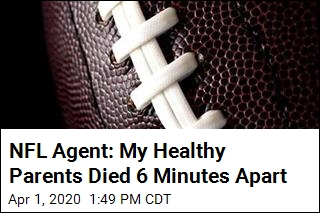 NFL Agent: COVID-19 Killed My Parents 6 Minutes Apart