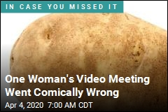 One Woman's Video Meeting Went Comically Wrong