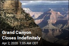 Grand Canyon Closes Indefinitely