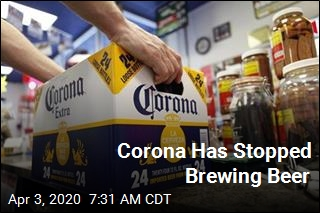 Corona Has Stopped Brewing Beer