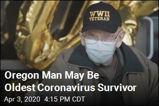 He Beat the Virus at Age 104