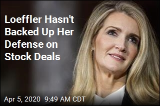Loeffler Hasn't Backed Up Her Defense on Stock Deals
