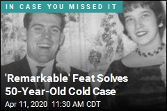 Breakthrough in Old Case, but Not the Way You'd Expect