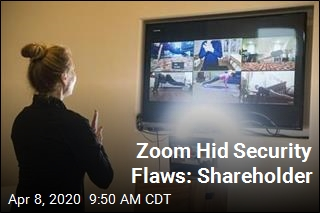 Zoom Hid Security Flaws: Shareholder