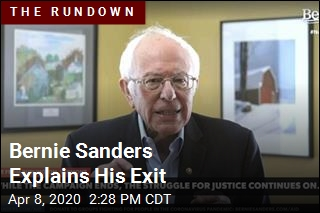 Bernie Sanders Explains His Exit