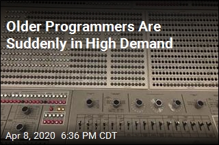 Older Programmers Are Suddenly in High Demand