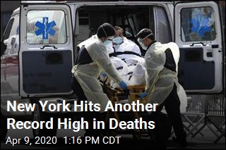 New York Hits Another Record High in Deaths