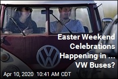 Easter Weekend Celebrations Happening in ... VW Buses?