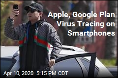 Apple, Google Want Smartphones to Trace Virus Contact