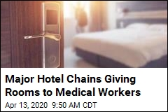 Big Hotel Chains Donating Rooms to Medical Workers