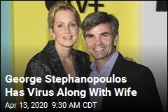 George Stephanopoulos Has Virus Along With Wife
