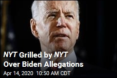 NYT Grilled by NYT Over Biden Allegations
