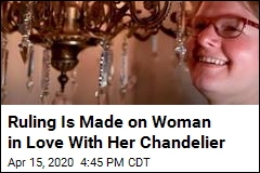 Ruling Is Made on Woman's Attraction to Chandeliers