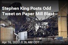 Stephen King Points Out Key Detail in Paper Mill Blast