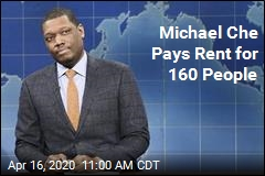 Michael Che Pays Rent for 160 People