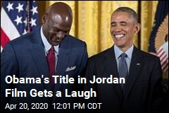 Obama's Title in Jordan Film Gets a Laugh