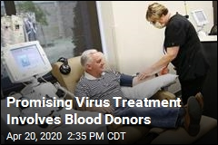 Promising Virus Treatment Involves Blood Donors