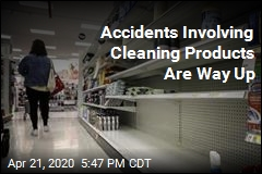 Accidents Involving Cleaning Products Are Way Up