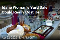 Idaho Woman's Yard Sale Could Really Cost Her