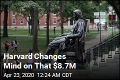 Harvard Won't Accept $8.7M in Aid After All