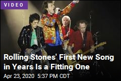 Rolling Stones' First New Song in Years Is a Fitting One