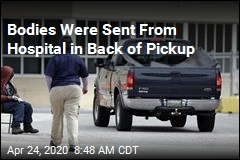 Bodies Were Sent From Hospital in Back of Pickup