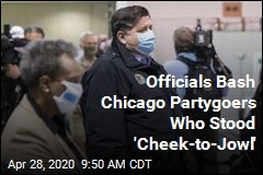 Officials Bash Chicago Partygoers Who Stood 'Cheek-to-Jowl'