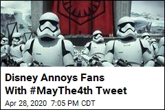 Disney Annoys Fans With #MayThe4th Tweet