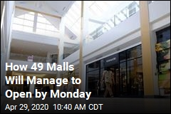How 49 Malls Will Manage to Open by Monday