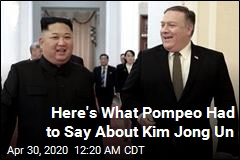 Mike Pompeo Weighs In on Kim Jong Un