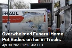 50 Corpses Stored in Trucks Outside NYC Funeral Home