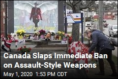 Canada Slaps Immediate Ban on Assault-Style Weapons