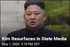 State Media Report Kim Has Made an Appearance