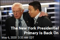 The New York Presidential Primary Is Back On