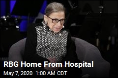 RBG Is Out of the Hospital
