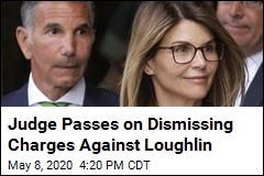 Judge Passes on Dismissing Charges Against Loughlin