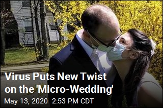 Virus Puts New Twist on the 'Micro-Wedding'