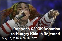 Rapper's $200K Donation to Hungry Kids Is Rejected