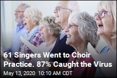 61 Singers Went to Choir Practice. 87% Caught the Virus