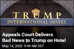 Trump Gets Bad News in Lawsuit Over Hotel