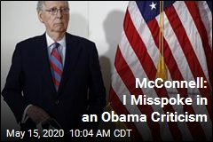 McConnell: I Misspoke in an Obama Criticism
