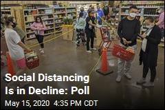 Social Distancing Is in Decline: Poll