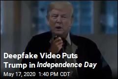 Deepfake Video Puts Trump in Independence Day