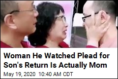 Woman He Watched Plead for Son's Return Is Actually Mom